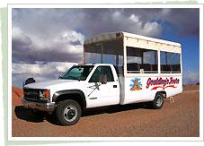 ジープツアーの車両例