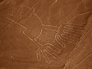 ペルー, 観光, 旅行, ナスカの地上絵 手